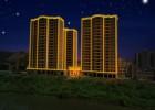 河源市酒店亮化工程中用到的线条灯首选防水性高且稳定的产品