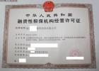 黑龙江哈尔滨融资担保公司注册多少钱