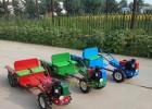 新款儿童电动手扶拖拉机超大号遥控双人带斗大块电瓶营业