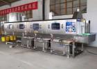 专业生产物流筐清洗机 高压热水喷射物流箱清洗设备