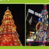 专业定制大型圣诞树蛋糕树圣诞树厂家装饰商场圣诞布置租赁