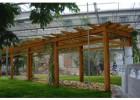 德州仿木花架制作|专业制作花架|仿木花架厂家