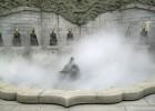 绿化雾喷|雾森厂家|喷泉冷雾机