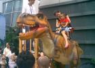 仿真恐龙游乐生产厂家 生动逼真的仿真骑乘龙模型