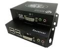 DVI+USB2.0+雙向音頻+雙向RS232紅外高速延長器
