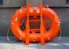 烏魯木齊救生裝備氣脹式拋投救生筏