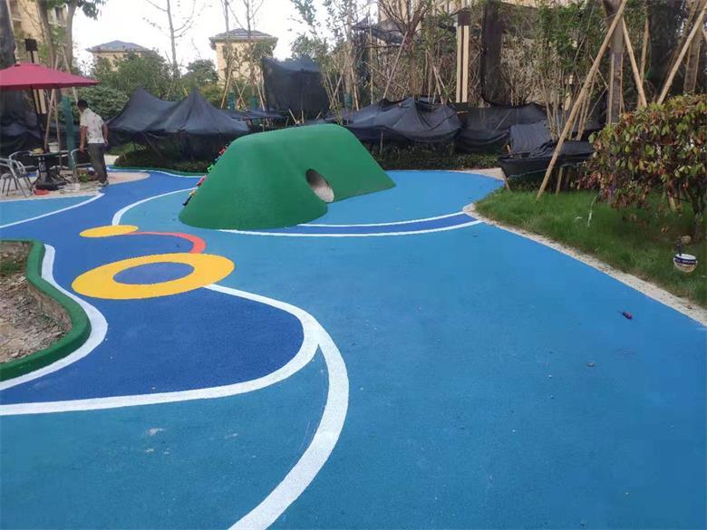 塑胶地坪维修 专业施工 经验丰富