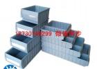 石家庄塑料多格分格零件盒收纳盒配件箱螺丝盒分类盒塑料周转箱