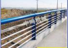 吉林不锈钢公路防撞护栏复合管桥梁栏杆 定做钢板立柱