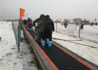 滑雪场代步工具雪地魔毯 自动融雪景区魔毯厂家