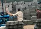 水泥砖砖机码砖机