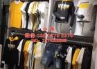 广州五金货架厂承接各类服装展示道具男装架靠墙展示架
