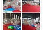 新疆大圆球长球悠波球充气滚筒球TPU