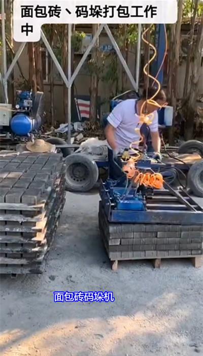 免烧砖码砖机厂家 码砖机上车机