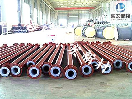钢衬塑管道厂家,φ59mm钢衬塑管道