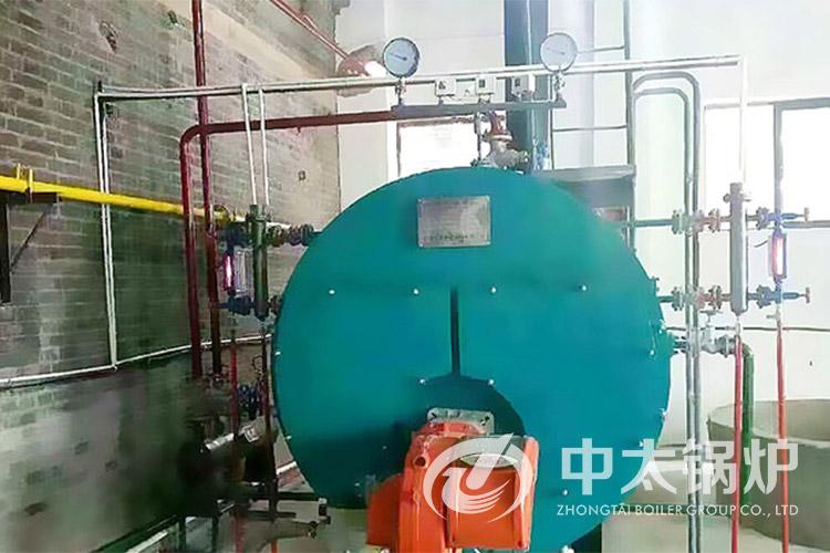 禹州食品厂2吨蒸汽锅炉