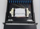 12口光纜終端盒抽拉式光纖終端盒LC雙工