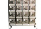 大鼠笼架实验室饲养鼠笼架