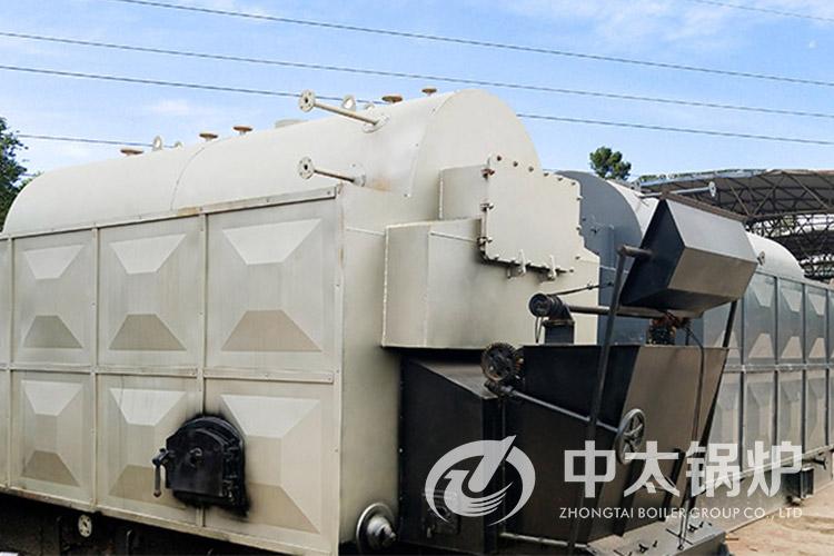 新密煤矿厂8吨热水锅炉