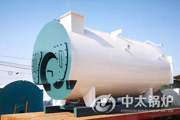 云南食品厂0.5吨燃油蒸汽锅炉