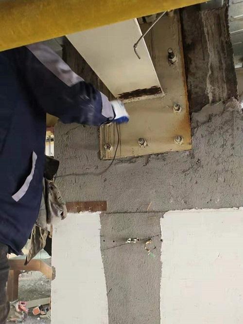 办公司阁楼钢结构焊缝无损检测4