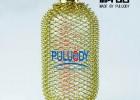 耐压玻璃取样瓶,黄铜耐压玻璃取样瓶