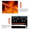 超柔软弹性耐高温加厚耐磨0.8-100MM硅胶热收缩套管