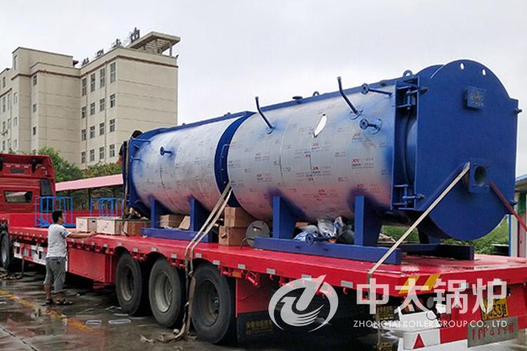 2吨卧式燃气蒸汽锅炉 全自动蒸汽锅炉