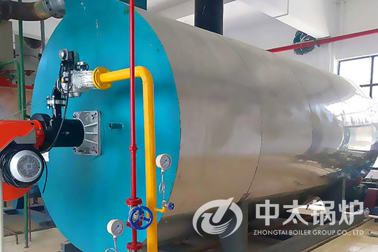 亳州中药城20吨燃气热水锅炉