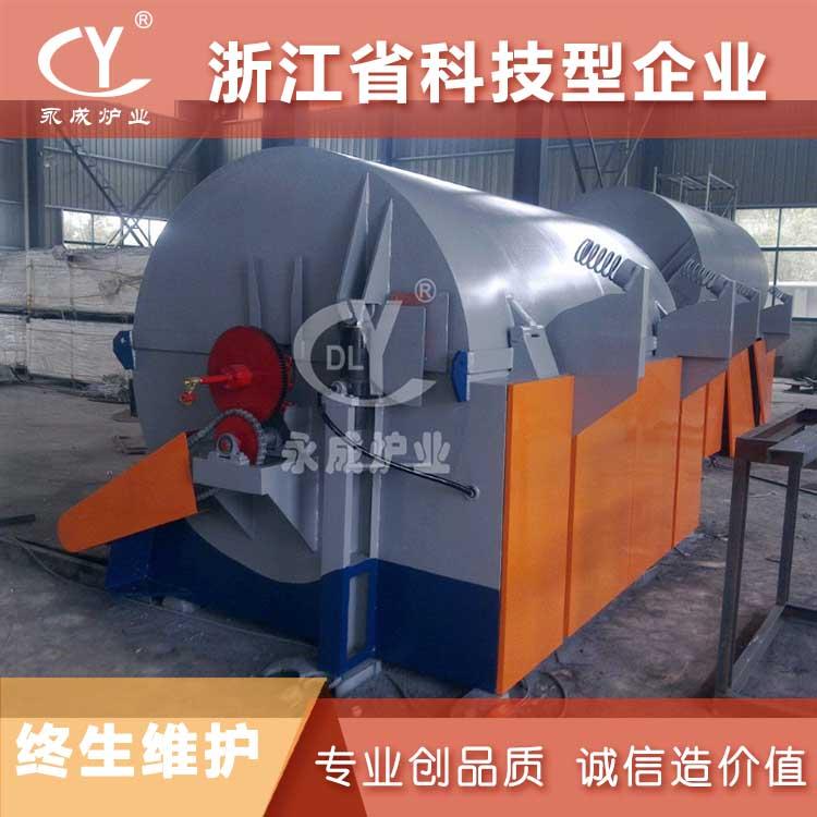 长兴YC90kw磷酸铁锂粉末焙烧炉 高温煅烧炉 节能环保