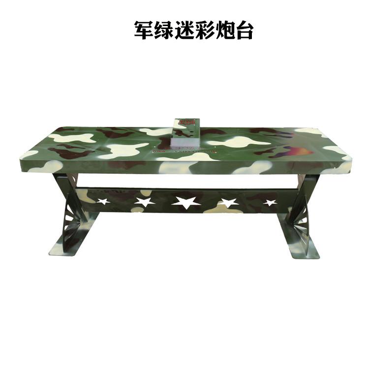 气炮枪配套炮台景区室内双位炮台河南振宇协和气炮枪厂家
