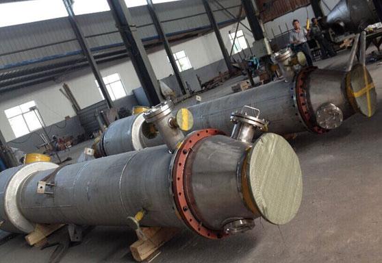 宝鸡厂家专业定做钛 镍 钛合金换热器 反应釜  储罐