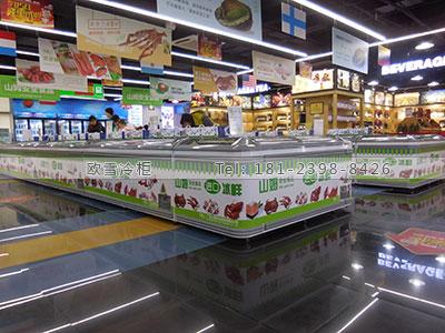 浙江超商大型冷藏和冷冻两用冰柜