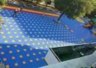 长宁排球地板餐饮业拼装运动地板