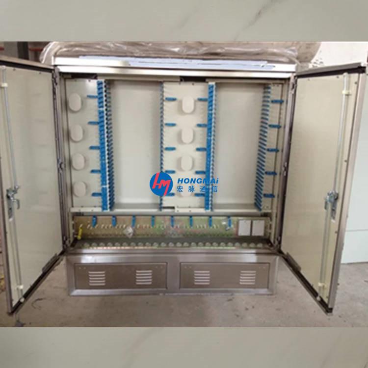 不锈钢1152芯光缆交接箱安装方便及操作特点