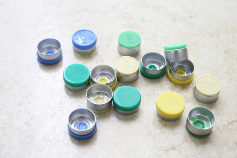 上海医用铝盖生产厂家 铝防伪瓶盖批发 防伪瓶盖加工厂久正