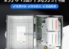 64芯塑料光纖分光分纖箱使用說明
