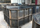 八角化粪池钢模具-混凝土浇筑-凝固挡土拆模