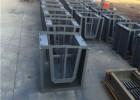 梯形水槽钢模具-生产方法简单-卡扣固定