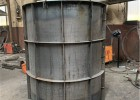 圆柱模板-混凝土打桩打孔打井用-圆形钢模板厂家