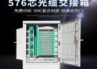 576芯光纤交接箱设计新颖