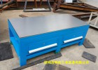 45#钢板桌面模具飞模台,钢板飞模工作台,钳工装配飞模桌