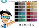 色漆配方鉴定及成分化验技术