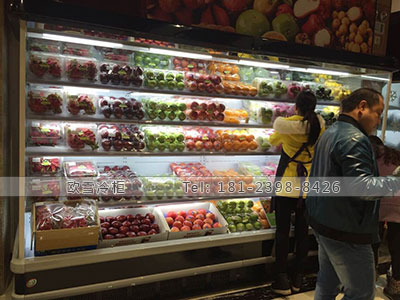 广州风幕柜超市冷柜批发