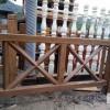广州天河区仿木栏杆——仿木围栏——广州友翠围栏