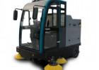 树叶柳絮清扫用电动驾驶式扫地机 电动驾驶式扫地车
