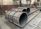 建筑工地混凝土定型用的钢模板