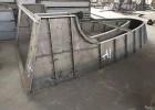 高速收费站建设使用的安全岛钢模具