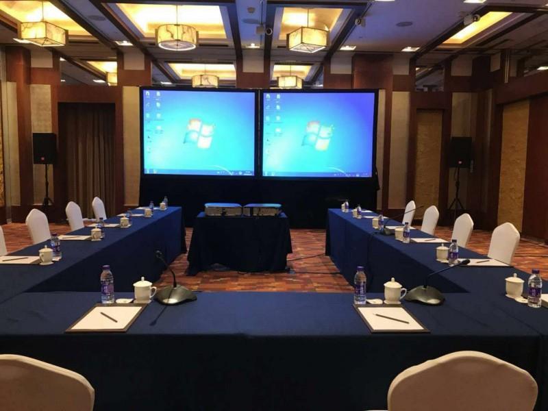 北京手拉手鹅颈麦话筒租赁、北京会议手拉手即席发言系统租赁