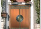 别墅院子大门图片大全乡村门楼庭院围墙大门M715